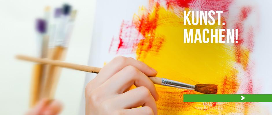 """<a href=""""http://www.kunstblick.info/themen/kunsttherapie/"""">Zur Kunsttherapie</a>"""
